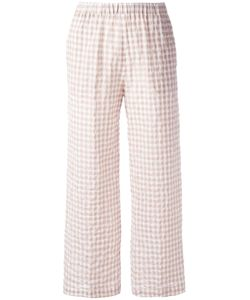 Aspesi | Checked Trousers 40 Cotton/Polyurethane