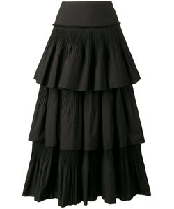 Alberta Ferretti | Pleated Ruffle Skirt