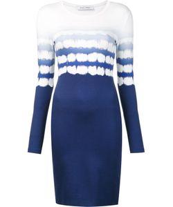Prabal Gurung | Shibori Print Knit Dress Large Spandex/Elastane/Viscose