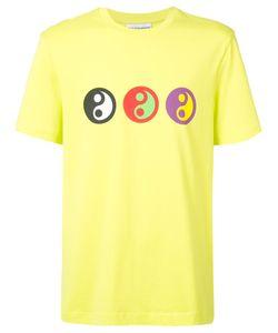 GOSHA RUBCHINSKIY | Yin Yang Print T-Shirt Xl Cotton