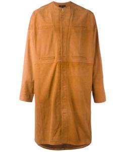 Qasimi | Concealed Fastening Collarless Coat