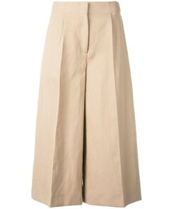 Joseph | Flared Cropped Trousers Size 38