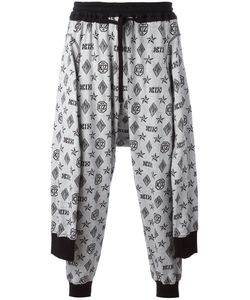 Ktz | Tied Up Monogram Joggers Medium Cotton
