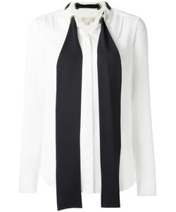 Michael Michael Kors | Neck Tie Shirt Large Silk