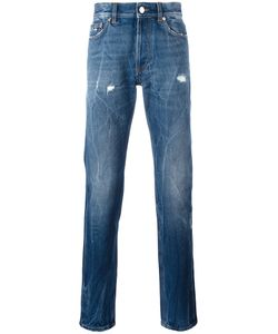 Givenchy | Creased Effect Tape Jeans 34 Cotton