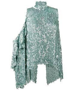 Magda Butrym | Sequin Embellished One Shoulder Top