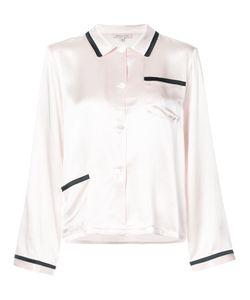 Morgan Lane | Пижамная Рубашка С Контрастной Отделкой