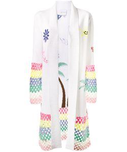 Mira Mikati | Crochet Trimmed Cardigan 34 Cotton/Wool/Acrylic