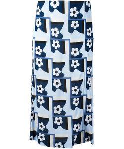 Prada | Print Midi Skirt Size 44