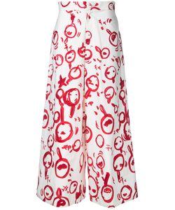 Tsumori Chisato | Brushstroke Print Trousers