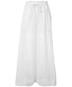 Sacai | Wide-Leg Trousers 3 Cotton