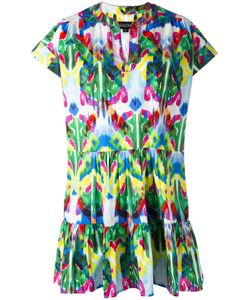Saloni | Tiered Shift Dress 8