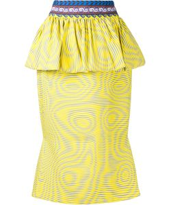 Mary Katrantzou | Leto Technical Peplum Skirt Women