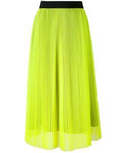 MSGM | Mid-Length Pleated Skirt 38
