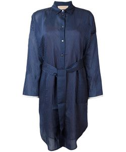 Erika Cavallini | Striped Shirt Dress 44 Cotton/Silk/Polyester
