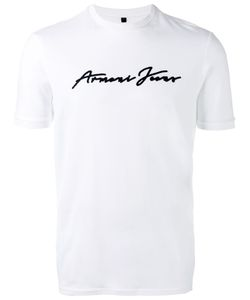 ARMANI JEANS | Embossed Logo T-Shirt