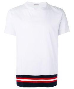 Moncler | Contrast Hem T-Shirt Size Small