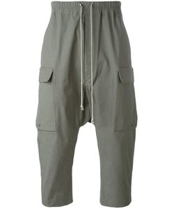 Rick Owens | Cropped Cargo Trousers 50 Cotton/Rubber