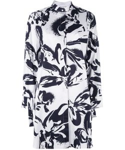 Cedric Charlier | Cédric Charlier Print Shirt Dress 42 Cotton/Other