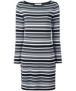 Michael Michael Kors | Striped Dress Xl Polyester/Spandex/Elastane
