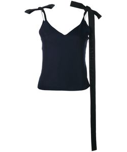 JACQUEMUS | Ribbon-Tie Shoulder Camisole 40 Virgin Wool