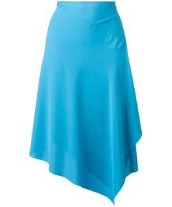 Cedric Charlier | Cédric Charlier Asymmetric Midi Skirt 42 Polyester