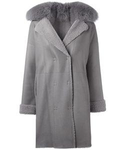 GUY LAROCHE VINTAGE | Fur Collar Coat Women Fox