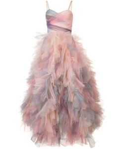 Marchesa | Frill Shift Dress 12
