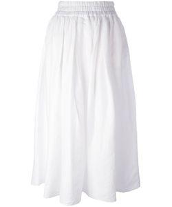 Aspesi   Pleated Skirt 42 Linen/Flax