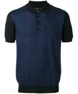 Corneliani | Contrast Panel Polo Shirt