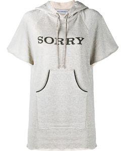 Walk of Shame | Sorry Hooded Sweatshirt With Short Sleeves
