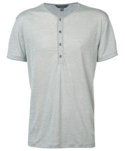 John Varvatos | Henley Jersey T-Shirt