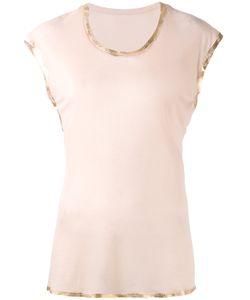 Zadig & Voltaire   Ribbon Trim T-Shirt Size Medium