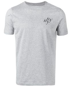 Saturdays Surf Nyc   Ny Print T-Shirt Large Cotton