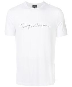 Giorgio Armani | Футболка С Принтом Логотипа