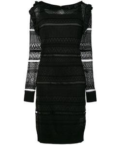 Class Roberto Cavalli | Платье С Прозрачной Панелью