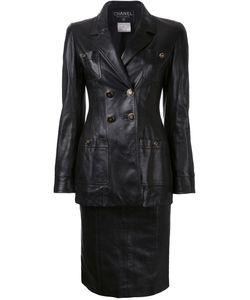 Chanel Vintage | Cc Button Setup Jacket Skirt Suit 36