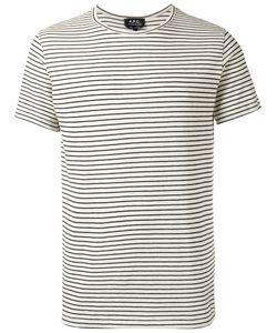 A.P.C. | A.P.C. Striped T-Shirt L