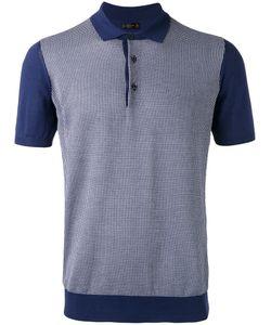 Corneliani | Grid Polo Shirt 52