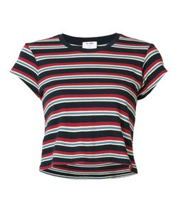 Re/Done | Striped Boxy T-Shirt Small Cotton