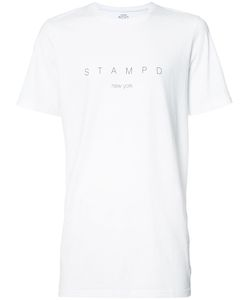 STAMPD | Logo Print T-Shirt Small Cotton