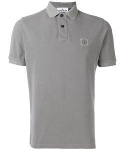 Stone Island | Рубашка-Поло С Нашивкой Логотипа