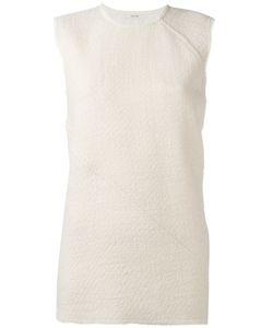 Céline   Tweed Sleeveless Top Size 36