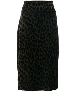 Odeeh   Leopard Pencil Skirt