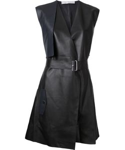 Dion Lee | Trench Leather Dress 14 Sheep Skin/Shearling