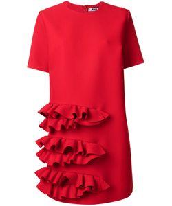 MSGM | Платье С Отделкой Из Рюшей