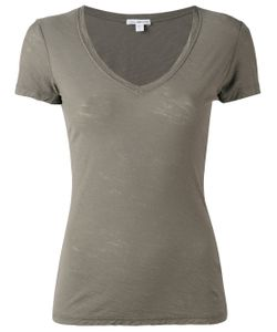 James Perse | Plunging V-Neck T-Shirt