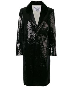 Dsquared2 | Sequin Embellished Coat 42 Cotton/Polyester/Silk/Sequin