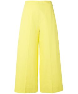 MSGM | Cropped Flared Trousers 42