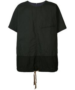 ZIGGY CHEN | Panelled T-Shirt 54 Cotton/Nylon